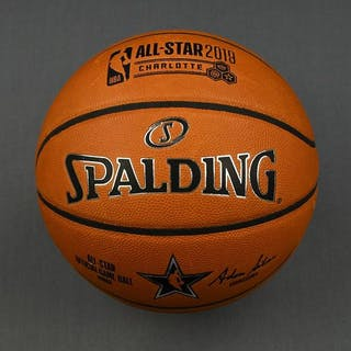 2019 NBA All-Star Practice-Used Basketball
