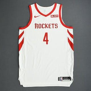 Danuel House Jr. - Houston Rockets - 2019 NBA Playoffs - Game-Worn