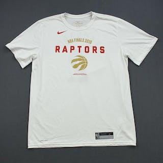 Eric Moreland - Toronto Raptors - 2019 NBA Finals - Game-Issued Short-Sleeved