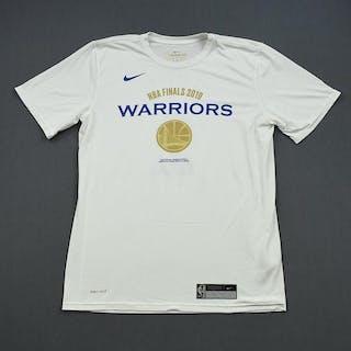 Jordan Bell - Golden State Warriors - 2019 NBA Finals - Game-Issued