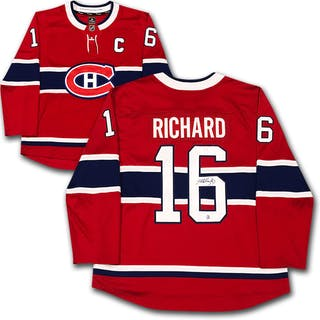 Henri Richard Autographed Montreal Canadiens Jersey