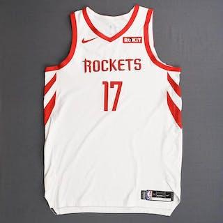 P.J. Tucker - Houston Rockets - 2019 NBA Playoffs - Game-Worn White