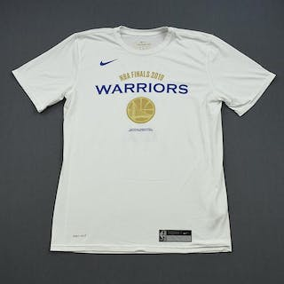Stephen Curry - Golden State Warriors - 2019 NBA Finals - Game-Issued