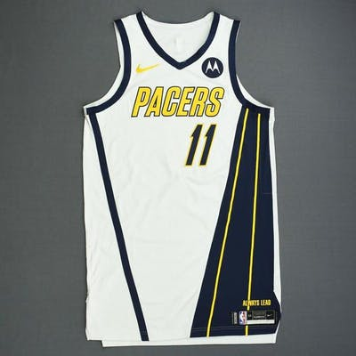 low priced 360f1 e96ef Domantas Sabonis - Indiana Pacers - Game-Worn Earned Edition ...