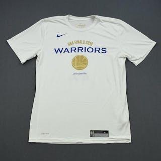 Jacob Evans III - Golden State Warriors - 2019 NBA Finals - Game-Issued