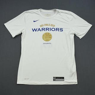 Andre Iguodala - Golden State Warriors - 2019 NBA Finals - Game-Issued