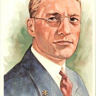 1980-02 Perez-Steele Hall of Fame Postcards #130 William Harridge