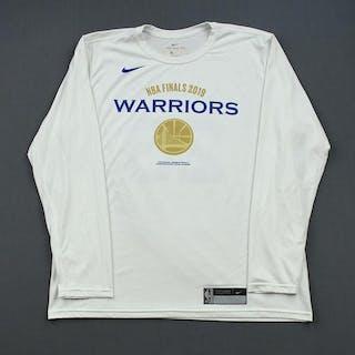 Alfonzo McKinnie - Golden State Warriors - 2019 NBA Finals - Game-Issued