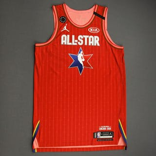 Khris Middleton - 2020 NBA All-Star - Team Giannis - Autographed Jersey