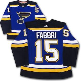 Robby Fabbri Autographed St. Louis Blue adidas Pro Jersey – Current sales –  Barnebys.com 83a1900f3