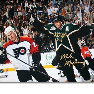 Mike Modano Autographed Dallas Stars 16X20 Photo