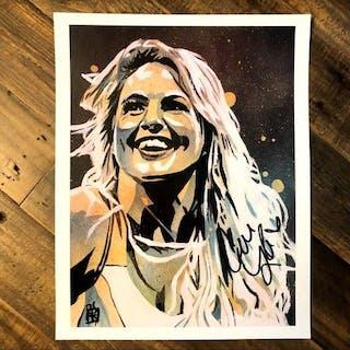 Candice Lerae SIGNED 11 x 14 Rob Schamberger Print