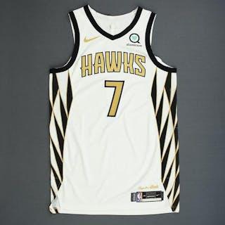 1d2417d9c Jeremy Lin - Atlanta Hawks - Game-Worn City Edition Jersey - 2018-19 Season  – Current sales – Barnebys.com