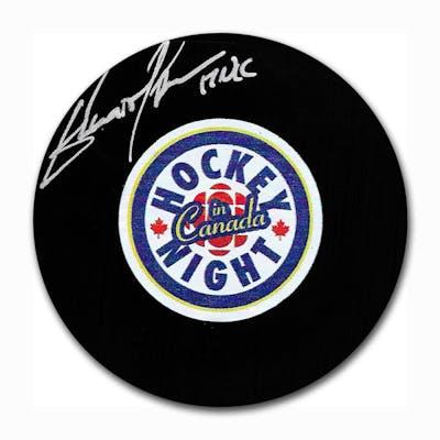 Elliotte Friedman Autographed Hockey Night in Canada Puck