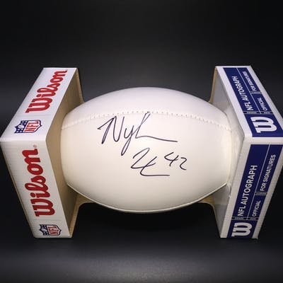 NFL - Colts Nyheim Hines Signed Panel Ball