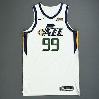 cheaper 08585 3bd3b Jae Crowder - Utah Jazz - Game-Worn Association Edition ...