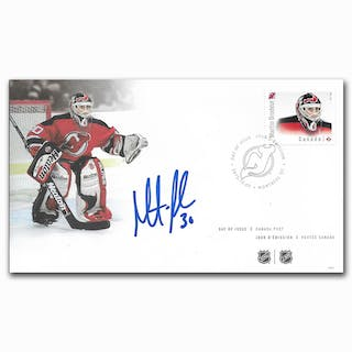 Martin Brodeur Autographed Canada Post First Day Cover Current