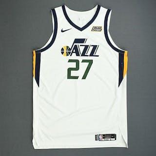 new product ad36a 7e2b7 Rudy Gobert - Utah Jazz - Game-Worn Association Edition ...