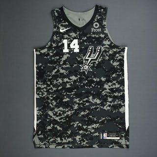 36803432a62 Drew Eubanks - San Antonio Spurs - Game-Worn City Edition Jersey - – Current  sales – Barnebys.com