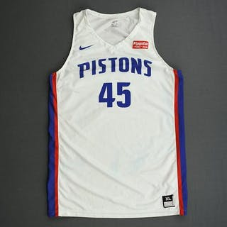Sekou Doumbouya - Detroit Pistons - 2019 NBA Summer League - Game-Worn Jersey
