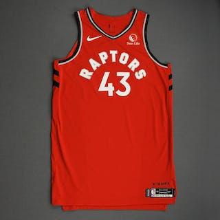Pascal Siakam - Toronto Raptors - Game-Worn Icon Edition Jersey -