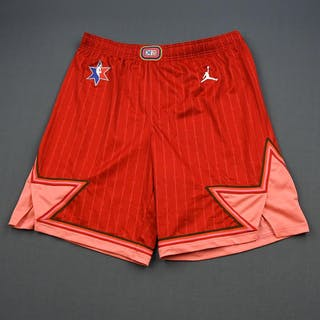 Trae Young - 2020 NBA All-Star - Game-Worn Shorts - Team Giannis -