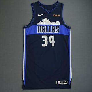 Devin Harris - Dallas Mavericks - 2018-19 Season - China Games - Game-Worn