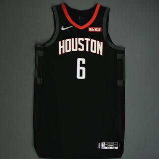 Gary Clark - Houston Rockets - Game-Worn Statement Edition Jersey