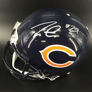 NFL - Bears Tarik Cohen Signed Proline Helmet