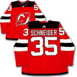 201587043 Cory Schneider Autographed New Jersey Devils adidas Pro Jersey – Current  sales – Barnebys.com