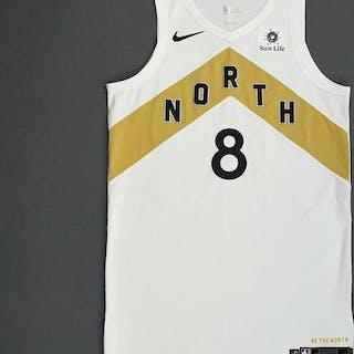 Jordan Loyd - Toronto Raptors - 2018-19 Season - Game-Issued White