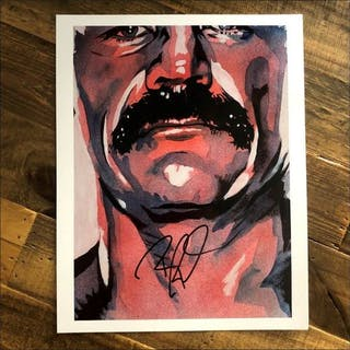 Robert Roode SIGNED 11 x 14 Rob Schamberger Print