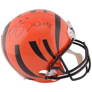 Andy Dalton & A.J. Green Dual Signed Cincinnati Bengals Autographed