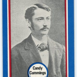 1976 Shakey's Pizza #23 Candy Cummings