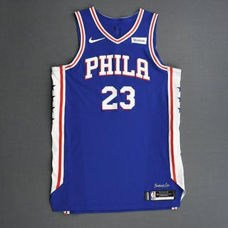 Jimmy Butler - Philadelphia 76ers - 2019 NBA Playoffs - Game-Worn