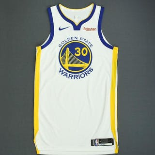 Stephen Curry - Golden State Warriors - 2018-19 NBA Season - Game-Worn