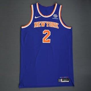 Luke Kornet - New York Knicks - 2018-19 Season - London Games - Game-Worn