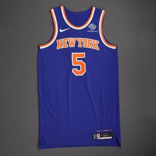 Courtney Lee - New York Knicks - 2018-19 Season - London Games - Game-Worn