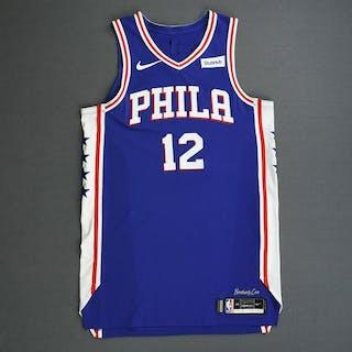T.J. McConnell - Philadelphia 76ers - 2019 NBA Playoffs - Game-Worn