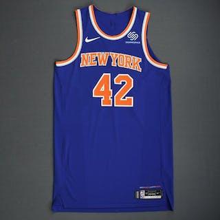 Lance Thomas - New York Knicks - 2018-19 Season - London Games - Game-Worn