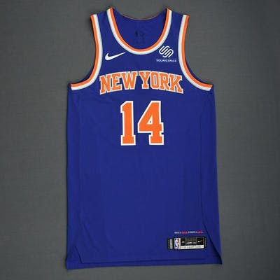 various colors 594fa 5ae38 Allonzo Trier - New York Knicks - 2018-19 Season - London ...