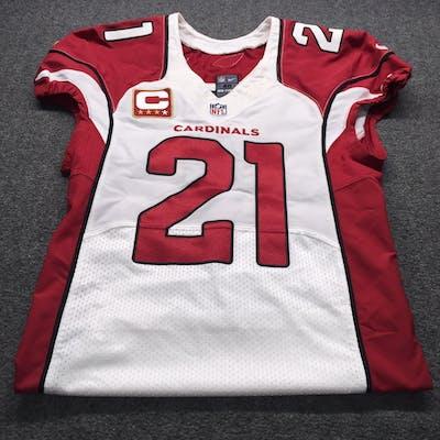 reputable site 85923 d67e1 Cardinals - Patrick Peterson Game Cut Jersey W/ Captains ...