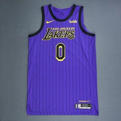 free shipping 9b983 1bc88 Kyle Kuzma - Los Angeles Lakers - Christmas Day' 18 - Game ...