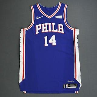 Jonathon Simmons - Philadelphia 76ers - 2019 NBA Playoffs - Game-Worn