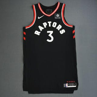 OG Anunoby - Toronto Raptors - 2019 NBA Finals - Game 3 - Game-Worn