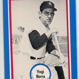 1976 Shakey's Pizza #127 Yogi Berra
