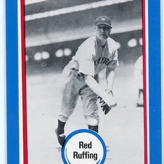 1976 Shakey's Pizza #105 Red Ruffing