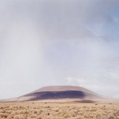 """""""The Roden Crater (View from the Southwest)"""", 2001/2002 - James Turrell"""