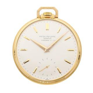 "Patek Philippe Vintage ""Tiffany & Co."" Pocket Watch 600/1"