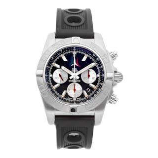 Breitling Chronomat Frecce Chronograph Tricolori Limited Edition AB01104D/BC62
